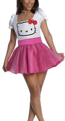 Hello Kitty Kostüm Pink Karneval Fasching Karnevalskostüm Damen S gebraucht kaufen  Windischeschenbach
