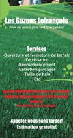 Fertilisation et entretien de pelouse