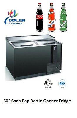 Commercial Soda Pop Coke Bottle Opener Refrigerator Cooler Restaurant Jbc-50 Nsf