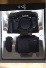 Fujifilm XT1 Camera DSLR video by Fuji - with Canon EOS adapter