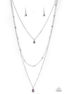 City Necklaces (City Blockbuster Purple Necklace By:)