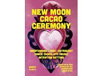 New Moon Yoga + Chocolate Celebration