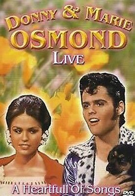 Donnie And Marie Osmond - Live A Heartful Of Song u.a Too young, Puppy love rar. ()