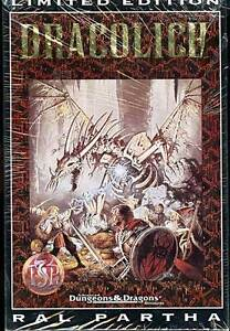 DRACOLICH AD&D LIMITED EDITION MINIATURE