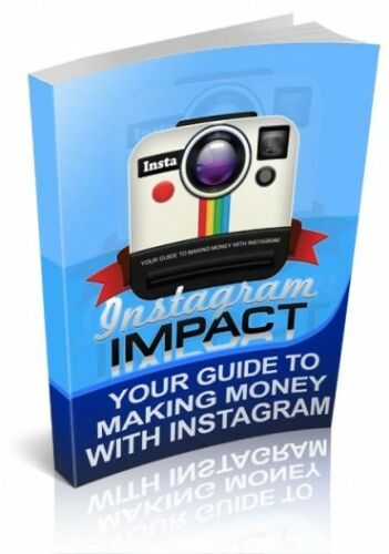 Instagram Impact PDF eBook with Full resale rights!