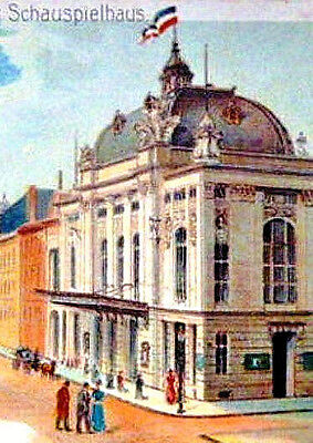 Deutsches Schauspielhaus AG Hamburg hist Aktie 1899 Theater Schauspiel Gründgens