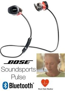 NEW BOSE SOUNDSPORT PULSE WIRELESS BLUETOOTH IN-EAR HEADPHONES (