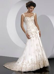 Size 12 WEDDING DRESS - Sottero & Midgley