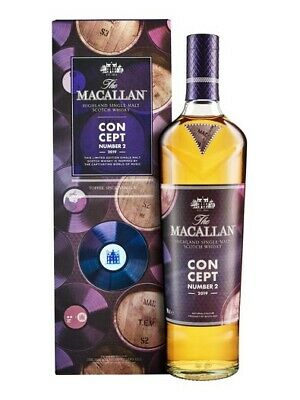 The Macallan Concept Nr. 2 Single Malt Scotch Whisky 40% 0,7l