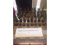 Harry Potter Dragons Chess set