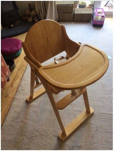 Wooden High Chair Baby Mothercare In Ipplepen Devon Gumtree