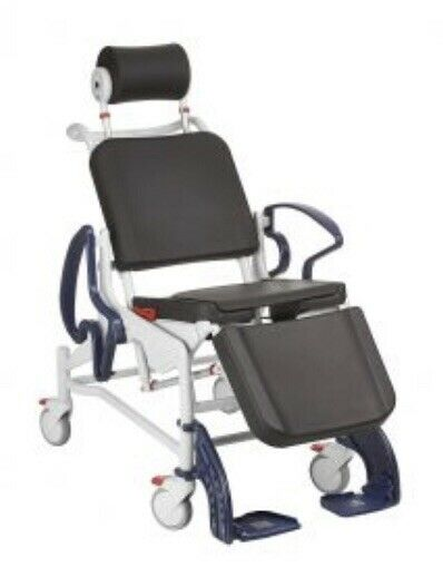 REBOTEC PHOENIX TILT IN PLACE COMFORT SHOWER COMMODE CHAIR MOBILITY MOBILE
