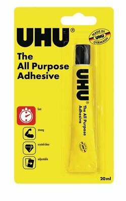 All Purpose Plastic Tape - Uhu All Purpose Super Glue Strong Clear Adhesive Paper China Plastic Wood 20ml