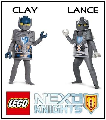 LEGO Nexo Knights Deluxe Clay or Lance - LEGO Mini Figure Child Costume Disguise
