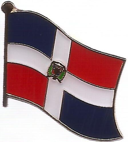 LOT OF 12 Dominican Flag Lapel Pins - Dominican Republic Flag Pin