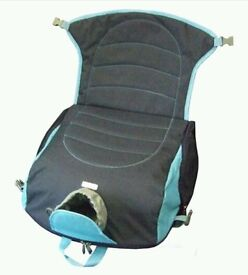 Brand new, sit 'n' see sports venue booster seat