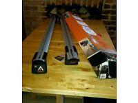 Aguri silver aluminium roof bars