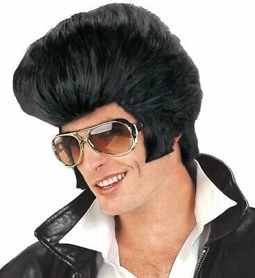 Elvis Presley Wig Adult Costume Accessory Oversized 50's Hair King of Rock