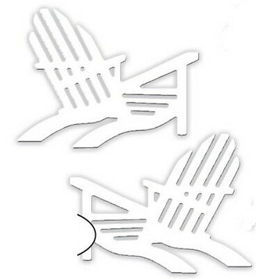 "Impression Obsession DIE177 ""Beach Chairs 1 Metal Dies NEW"