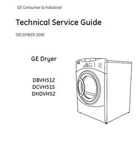 Ge Dryer Service Repair Manual