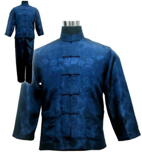 Mens Kimono Kung Fu Style Japanese Traditional Clothing *NEW*