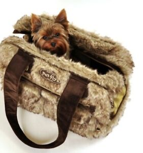 Super Plush Fur Pet Carrier