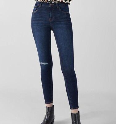Bershka jean skinny bleu t 40 neuf