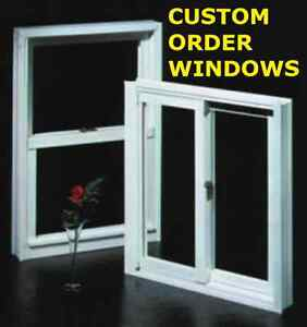 Custom Order Windows - Our Prices Will Not Be Beat!