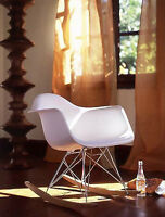 chaise eames bercante, eiffel rocker, rocking chair
