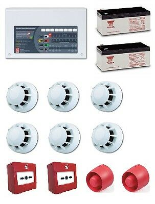 Fire Alarm Kit - 2 Zone