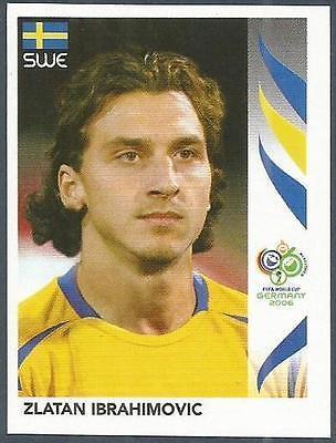 PANINI FIFA WELT CUP GERMANY 2006 166 SWEDEN ZLATAN IBRAHIMOVIC