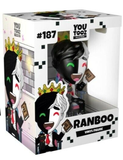 Ranboo Youtooz Figure #187 Sold Out Limited Edition - PREORDER