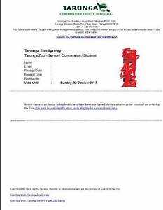 Taronga Zoo Ticket Canberra City North Canberra Preview
