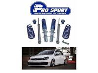Prosport Suspension Systems Coilovers Vw Golf Mk 5, Mk6, Seat Leon, Exeo, Audi A4 B7, Bmw E60, E90
