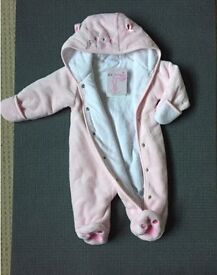 New with tag Babies'R'Us 3-6 months snow suit