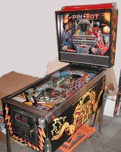 """PINBOT Pinball Machine - Williams 1986 - """"PIN-BOT"""""""