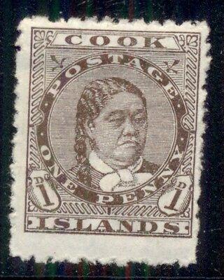 COOK ISLANDS #9 Mint Hinged Scott $50.00