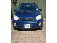 2002 TOYOTA RAV 4 MINT CONDITION 1 LADY OWNER SINCE NEW 12 MONTHS MOT