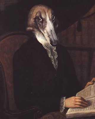 Borzoi - Vintage Dog Art Print - Poncelet