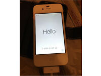 Apple iphone 4s ee white immaculate 8gb