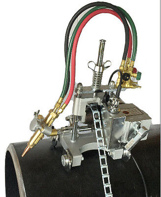 New B B Pipe Tools - 8000 - Manual Chain Pipe Cutter Beveling Machine