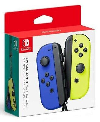 Nintendo Blue/ Neon Yellow Joy-Con (L-R) - Switch - New