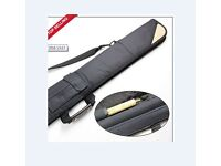 SOFT SNOOKER CASE FOR 3/4 SNOOKER CUE, NEW
