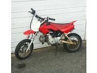 90cc pit bike kids crosser 50 110 125 140 ped quad moped mini moto stomp wpb