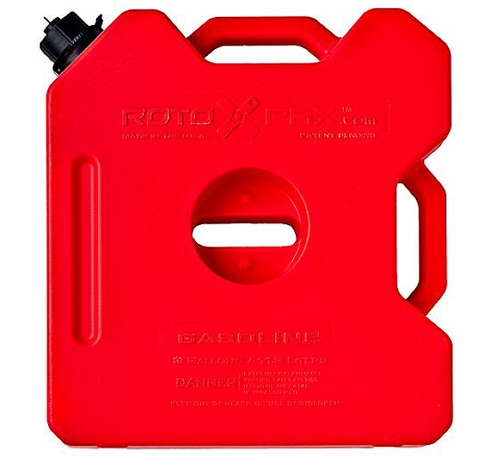 3 Gallon RotopaX Fuel Pack/Gas Container/Fuel Can for Jeep,ATV,UTV,Polaris RZR