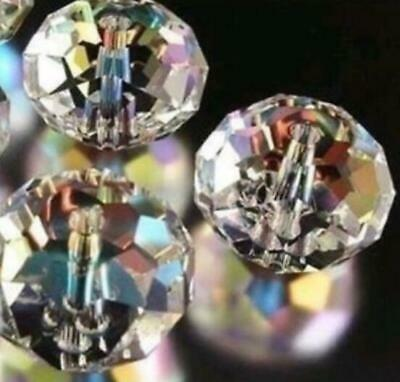Briollete Rondelle Crystal Glass beads 6mm Glass Beads 6mm Crystal