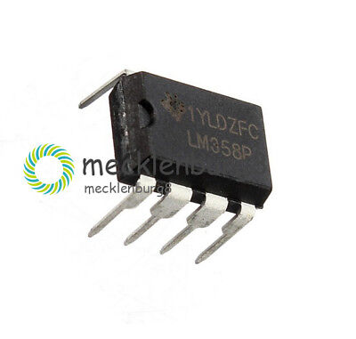 20PCS X LM358 LM358N OPERATIONAL AMPLIFIER DUAL OPAMP OP AMP IC DIP 8