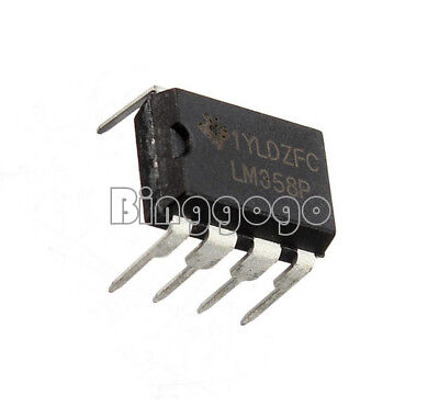 20PCS LM358 LM358N OPERATIONAL AMPLIFIER DUAL OPAMP OP AMP IC DIP 8 NEW