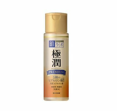 ROHTO Hada labo Gokujyun PREMIUM Hyaluronic Acid Super Moist Lotion 170ml japan