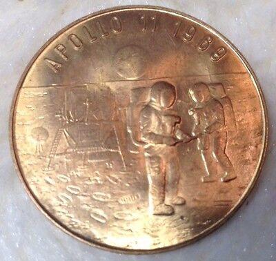 Gedenkmünze Medaille Apollo 11 1969  10 Jahre Mondlandung
